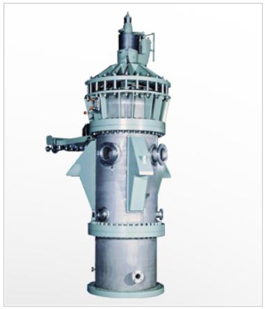 巴工業のデカンター型遠心分離機