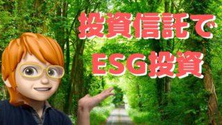 ESG投資ができる投資信託の銘柄5選!【8年目投資家がセレクト】